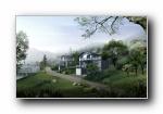 建筑园林 宽屏壁纸 (四)