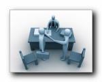 3D立体商业人物 1600x1200