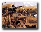 油画风格战争壁纸