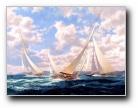 手绘帆船2