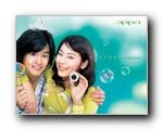 OPPO MP3广告壁纸