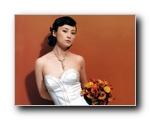 蒋勤勤新娘装写真