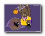 Q版篮球明星壁纸