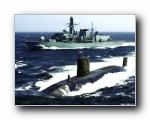 雷霆潜艇壁纸