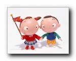 欢乐家庭卡通系列1600*1200