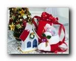 圣诞装饰物品特写  1600*1200