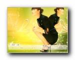 徐静蕾2007年月历桌面