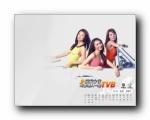 TVB明星2007年月历壁纸